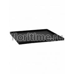 Поддон Pottery Pots Fiberstone saucer block60, black, чёрного цвета Длина — 63 см  Высота — 4 см