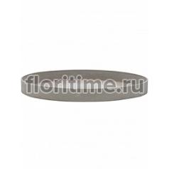 Поддон Pottery Pots Refined gaia M размер clouded grey, серого цвета  Диаметр — 50 см Высота — 5 см