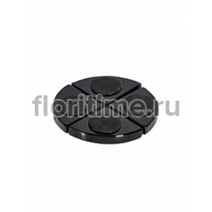Подножки Fiberstone accessoires glossy black, чёрного цвета pot feet (4)