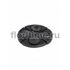 Подножки Fiberstone accessoires pot feet black, чёрного цвета (4)