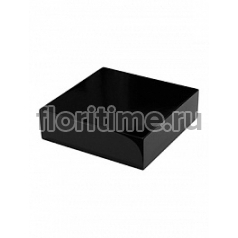 Подставка Fiberstone accessoires glossy black, чёрного цвета topper S размер (thick) Длина — 25 см  Высота — 8 см