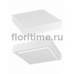 Подставка Fiberstone accessoires glossy white, белого цвета topper M размер (thick) Длина — 35 см  Высота — 8 см