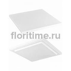 Подставка Fiberstone accessoires glossy white, белого цвета topper M размер (thin) Длина — 35 см  Высота — 25 см