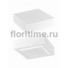 Подставка Fiberstone accessoires glossy white, белого цвета topper S размер (thick) Длина — 25 см  Высота — 8 см