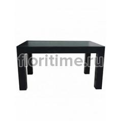 Стол Fiberstone table black, чёрного цвета M размер Длина — 140 см  Высота — 75 см
