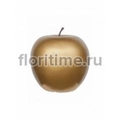 Яблоко декоративное Pottery Pots Apple gold, под цвет золота L размер  Диаметр — 53 см Высота — 56 см