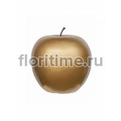 Яблоко декоративное Pottery Pots Apple gold, под цвет золота XL размер  Диаметр — 64 см Высота — 68 см