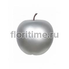 Яблоко декоративное Pottery Pots Apple под цвет серебра L размер  Диаметр — 53 см Высота — 56 см
