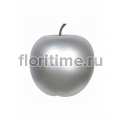 Яблоко декоративное Pottery Pots Apple под цвет серебра XXL размер  Диаметр — 80 см Высота — 83 см