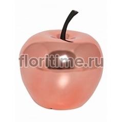 Яблоко декоративное Pottery Pots Fiberstone platinum rose apple S размер  Диаметр — 25 см Высота — 285 см