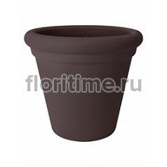 Кашпо Elho Allure doppio bark brown, коричнево-бурого цвета диаметр - 40 см высота - 35 см