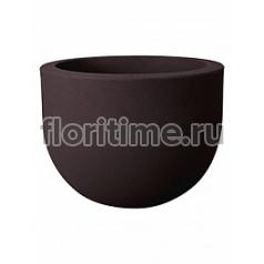 Кашпо Elho Allure soft bark brown, коричнево-бурого цвета диаметр - 39 см высота - 29 см