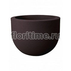 Кашпо Elho Allure soft bark brown, коричнево-бурого цвета диаметр - 47 см высота - 35 см