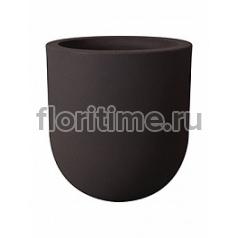 Кашпо Elho Allure soft high bark brown, коричнево-бурого цвета диаметр - 35 см высота - 37 см