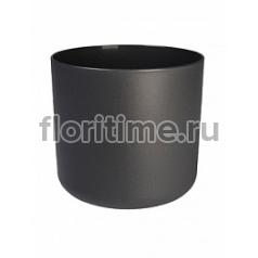 Кашпо Elho B.for soft anthracite, цвет антрацит диаметр - 14 см высота - 13 см