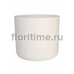 Кашпо Elho B.for soft white, белого цвета диаметр - 14 см высота - 13 см