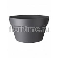 Кашпо Elho Loft urban anthracite, цвет антрацит bowl диаметр - 35 см высота - 20 см