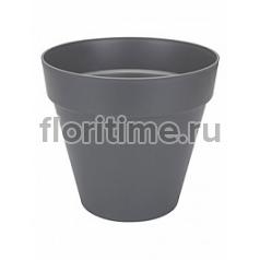 Кашпо Elho Loft urban anthracite, цвет антрацит round диаметр - 69 см высота - 62 см