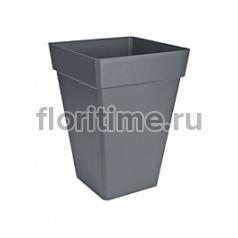 Кашпо Elho Loft urban anthracite, цвет антрацит square high длина - 37 см высота - 51 см