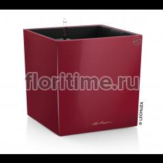 Кашпо Lechuza Cube, Красный