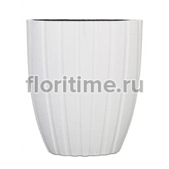 Кашпо Capi lux pot oval arc iii white