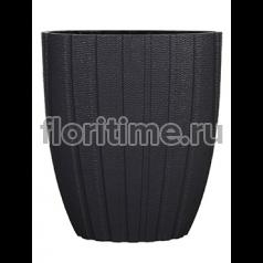 Кашпо Capi lux pot oval arc iii anthracite