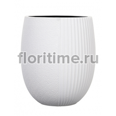 Capi lux vase elegant high iii split white