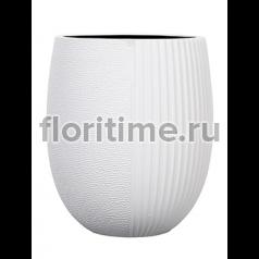 Кашпо Capi lux vase elegant high iii split white