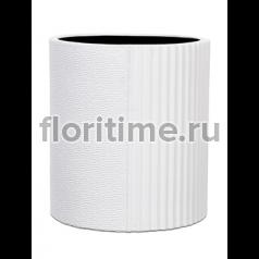 Кашпо Capi lux vase cylinder iii split white