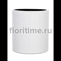 Кашпо Capi lux vase cylinder i split white
