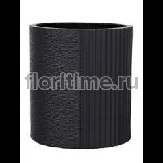 Кашпо Capi lux vase cylinder ii split anthracite