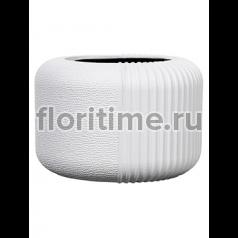 Кашпо Capi lux vase round iii split white
