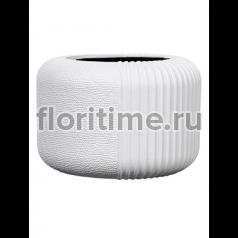 Кашпо Capi lux vase round ii split white
