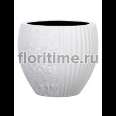 Кашпо Capi lux vase elegant split iii white