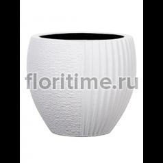 Кашпо Capi lux vase elegant split ii white
