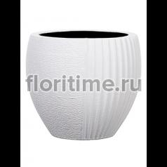 Кашпо Capi lux vase elegant split i white