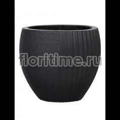 Кашпо Capi lux vase elegant split iii anthracite