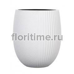 Кашпо Capi lux vase elegant high ii split white