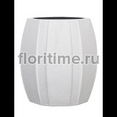 Кашпо Capi lux vase elegant wide arc ii white