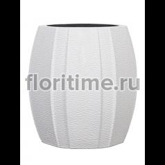 Кашпо Capi lux vase elegant wide arc i white