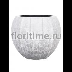 Кашпо Capi lux vase eggplanter iii white