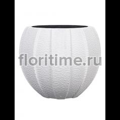 Кашпо Capi lux vase eggplanter i white