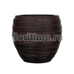 Кашпо Capi nature vase elegant i loop brown