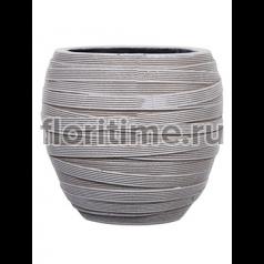 Кашпо Capi nature vase elegant ii loop ivory