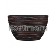 Кашпо Capi nature planter oval ii loop brown
