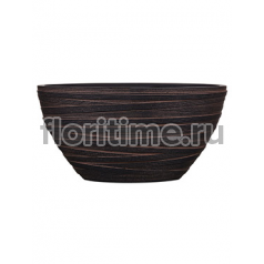 Кашпо Capi nature planter oval i loop brown
