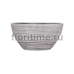 Кашпо Capi nature planter oval i loop ivory