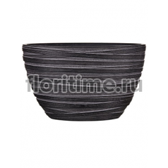Кашпо Capi nature planter oval ii loop black