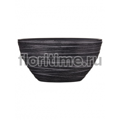 Кашпо Capi nature planter oval i loop black