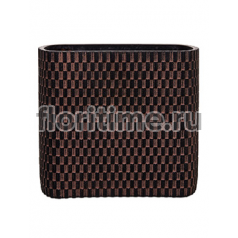 Кашпо Capi nature vase ellips wave iii brown